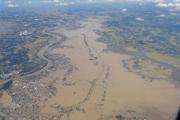 茨城常総市の浸水状況