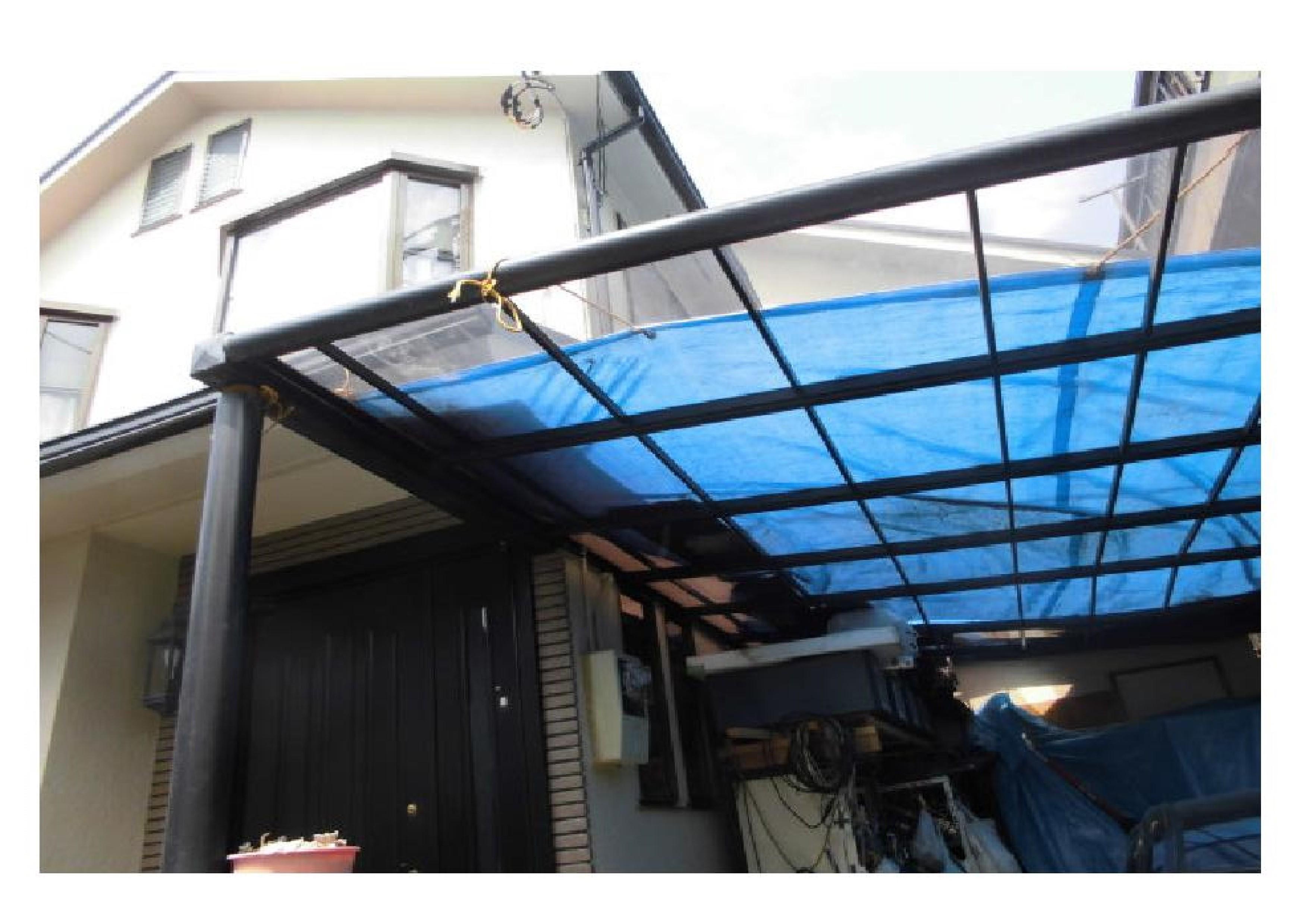 屋根 車庫