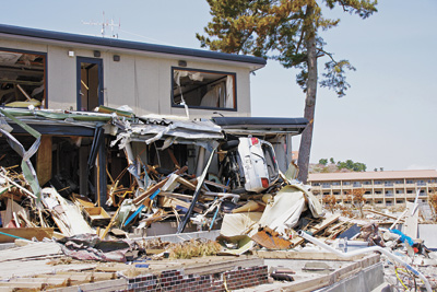 地震 被害 写真