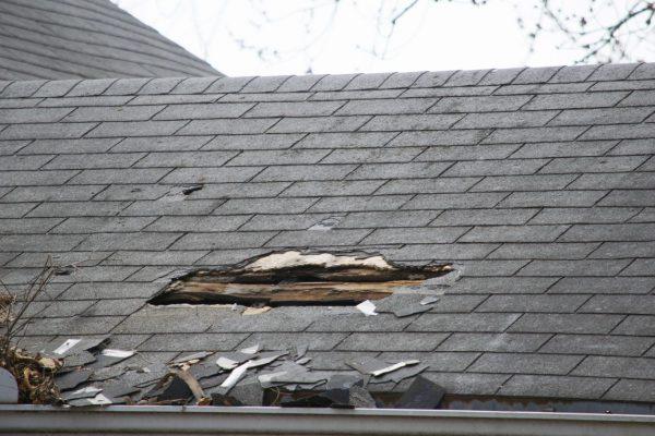 屋根被害 雹