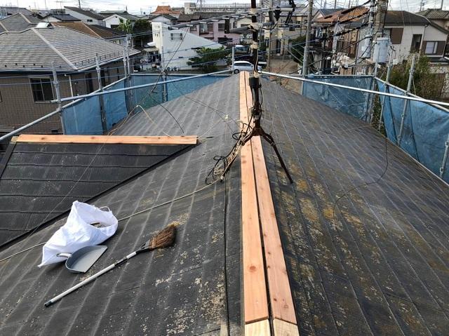 台風 屋根修理640