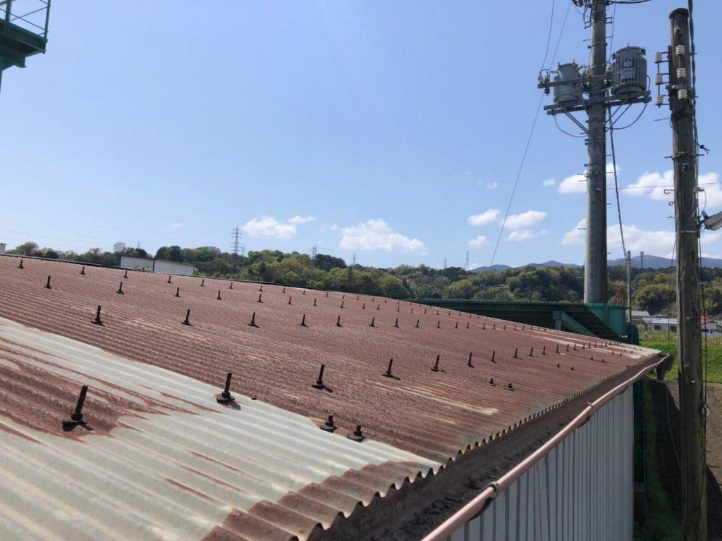 波板の工場